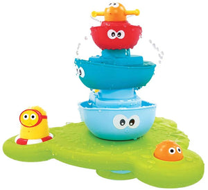 Yookidoo - Bath Toy - Stack N' Spray Bathtub Fountain
