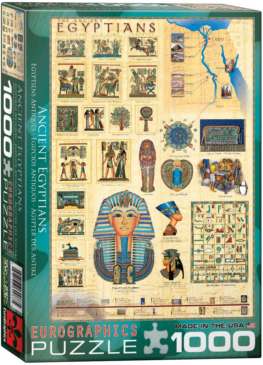 Eurographics  - Ancient Egyptians, 1000 PC Puzzle