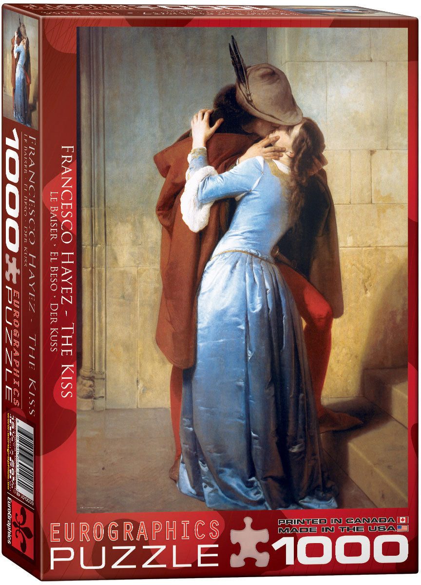 Eurographics  - The Kiss , 1000 PC Puzzle