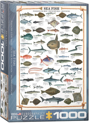 Eurographics  - Sea Fish, 1000 PC Puzzle