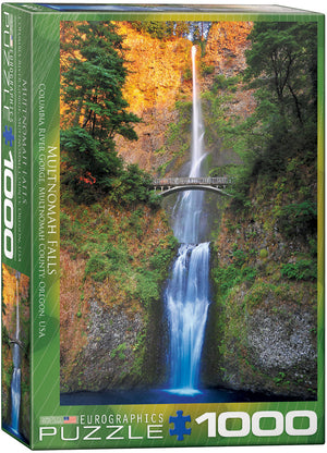 Eurographics  - Multnomah Falls, Oregon, 1000 PC Puzzle