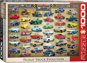 Eurographics  - Pickup Truck Evolution, 1000 PC Puzzle