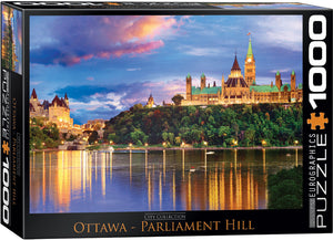 Eurographics  - Ottawa Parliament Hill, 1000 PC Puzzle