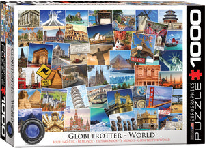 Eurographics - World Globetrotter, 1000 PC Puzzle