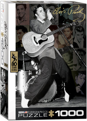 Eurographics - Elvis Presley - Live at the Olympia Theater, 1000 PC Puzzle