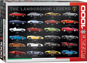 Eurographics - Lamborghini Legend, 1000 PC Puzzle