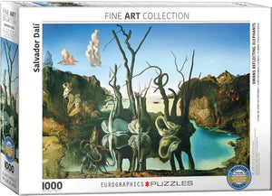 Eurographics - Swans Reflection Elephants, 1000 PC Puzzle