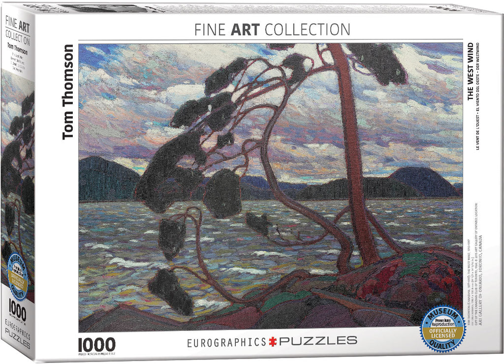 Eurographics - The West Wind, 1000 PC Puzzle