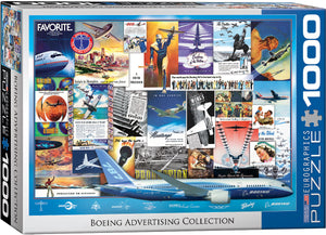 Eurographics - Boeing Advertising Collection, 1000 PC Puzzle