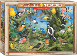 Eurographics - Garden Birds , 1000 PC Puzzle