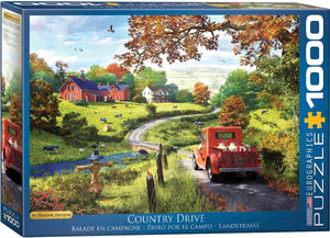Eurographics - Country Drive by Dominic Davison, 1000 PC Puzzle