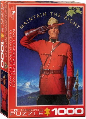 Eurographics - RCMP Maintain the Right, 1000 PC Puzzle