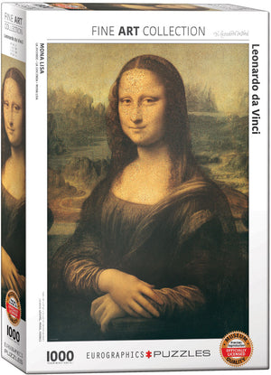 Eurographics - Mona Lisa by Leonardo Da Vinci, 1000 PC Puzzle