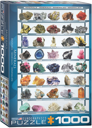 Eurographics - Minerals of the World, 1000 PC Puzzle