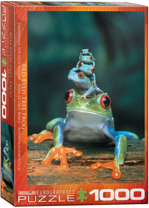 Eurographics - Red-Eyed Tree Frog, 1000 PC Puzzle