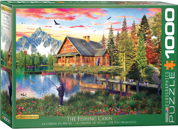 Eurographics - The Fishing Cabin by Dominic Davison, 1000 PC Puzzle