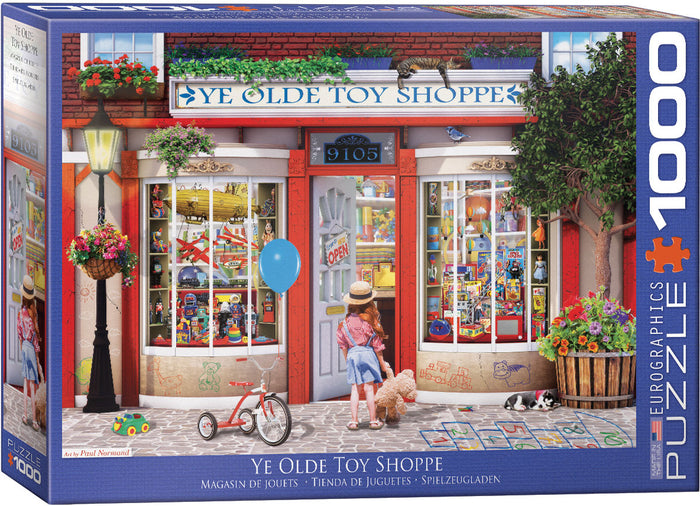 Eurographics - Ye Olde Toy Shoppe by Paul Normand