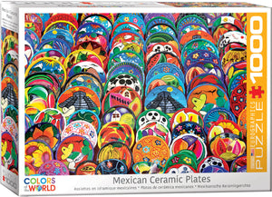 Eurographics  - Mexican Ceramic Plates, 1000 PC Puzzle