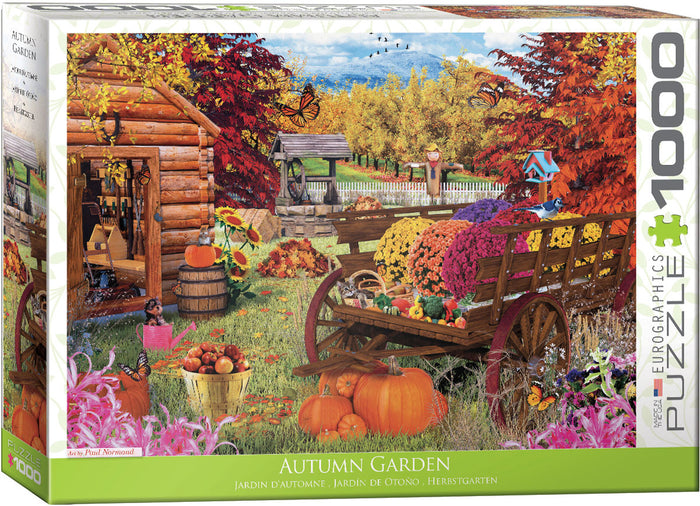 Eurographics - Autumn Garden by Paul Normand, 1000 PC Puzzle