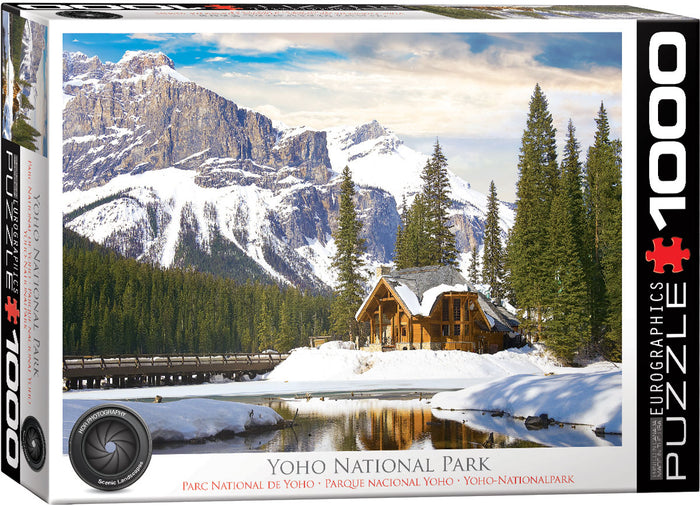 Eurographics - Yoho National Park BC , 1000 PC Puzzle