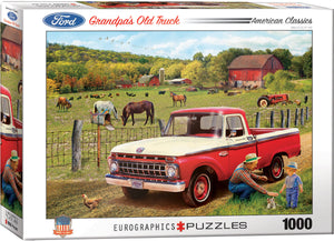 Eurographics - Grandpa's Old Truck  (1965 Ford F-100), 1000 PC Puzzle