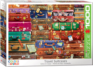 Eurographics - Travel Suitcases, 1000 PC Puzzle