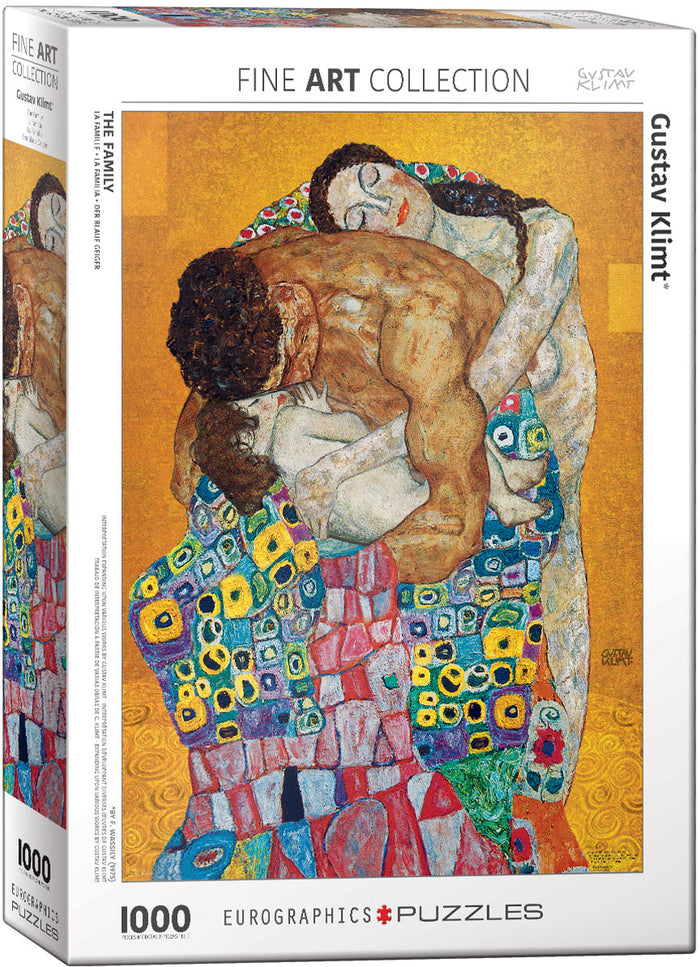 Eurographics - The Family (Expanding upon the work by Gustav Klimt), 1000 PC Puzzle