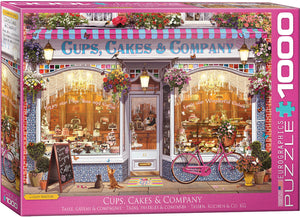 Eurographics - Cups, Cakes & Company by Garry Walton, 1000 PC Puzzle
