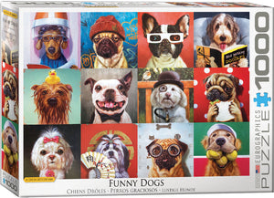 Eurographics - Funny Dogs by Lucia Heffernan, 1000 PC Puzzle