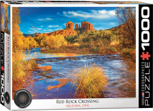 Eurographics - Red Rock Crossing AZ, 1000 PC Puzzle