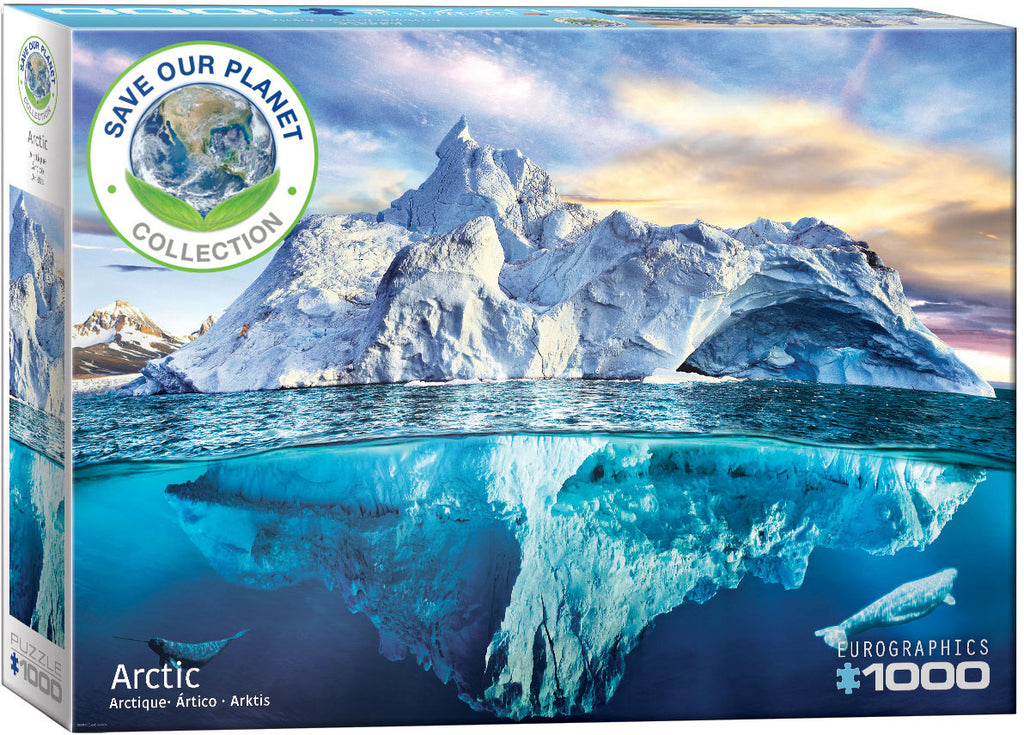 Eurographics  - Artic, 1000 PC Puzzle