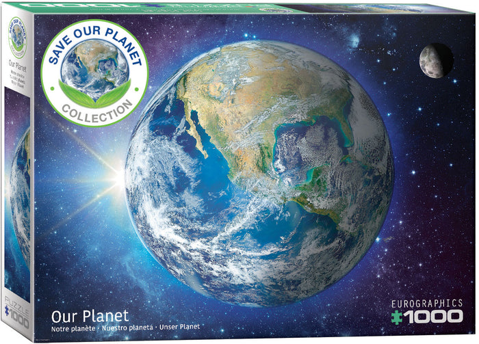 Eurographics - Our Planet, 1000 PC Puzzle