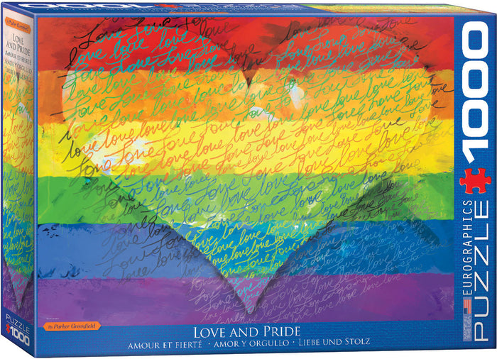 Eurographics - Love & Pride!, 1000 PC Puzzle