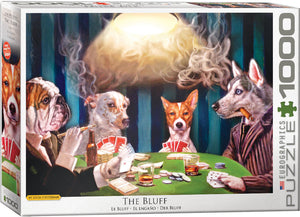 Eurographics - The Bluff by Lucia Heffernan, 1000 PC puzzle