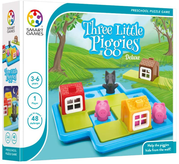 Smart Games - 3 Little Piggies Deluxe Toy