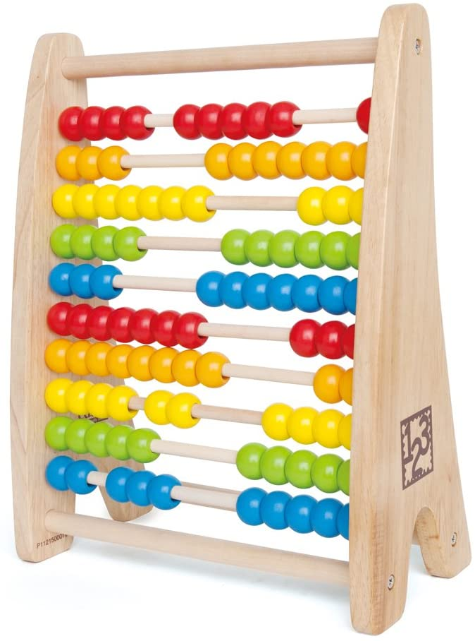 Hape - Rainbow Bead Abacus Toy