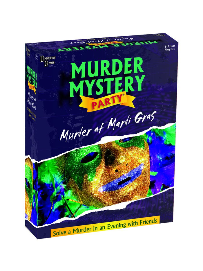 University Games - Murder Mystery - Murder At Mardi Gras