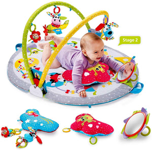 Yookidoo - Gymotion Lay to Sit-Up Play Mat Infant Activity Toy