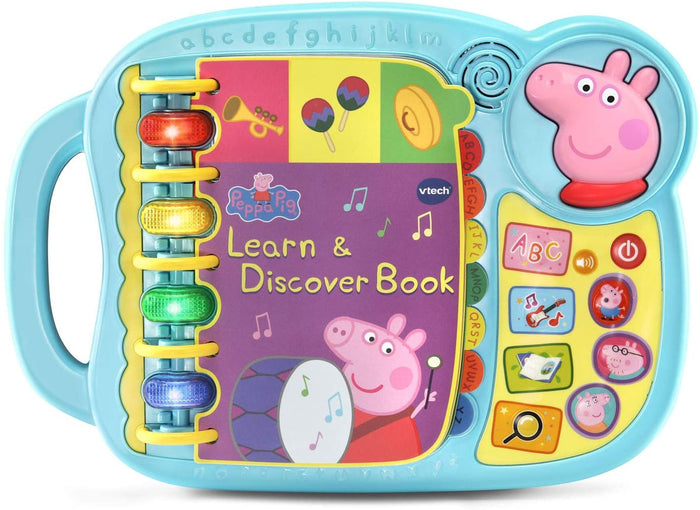 Vtech - Peppa Pig Learn & Discover Book Toy