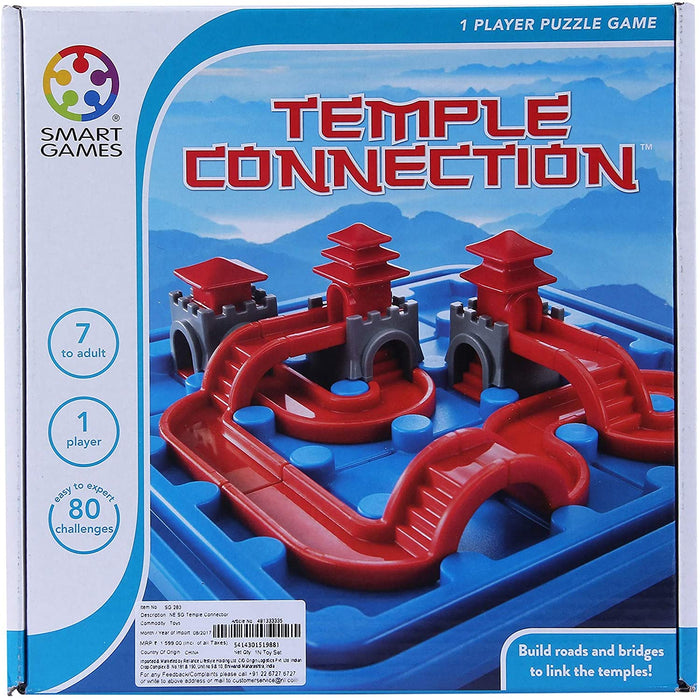 Smart Games - Temple Connection Game