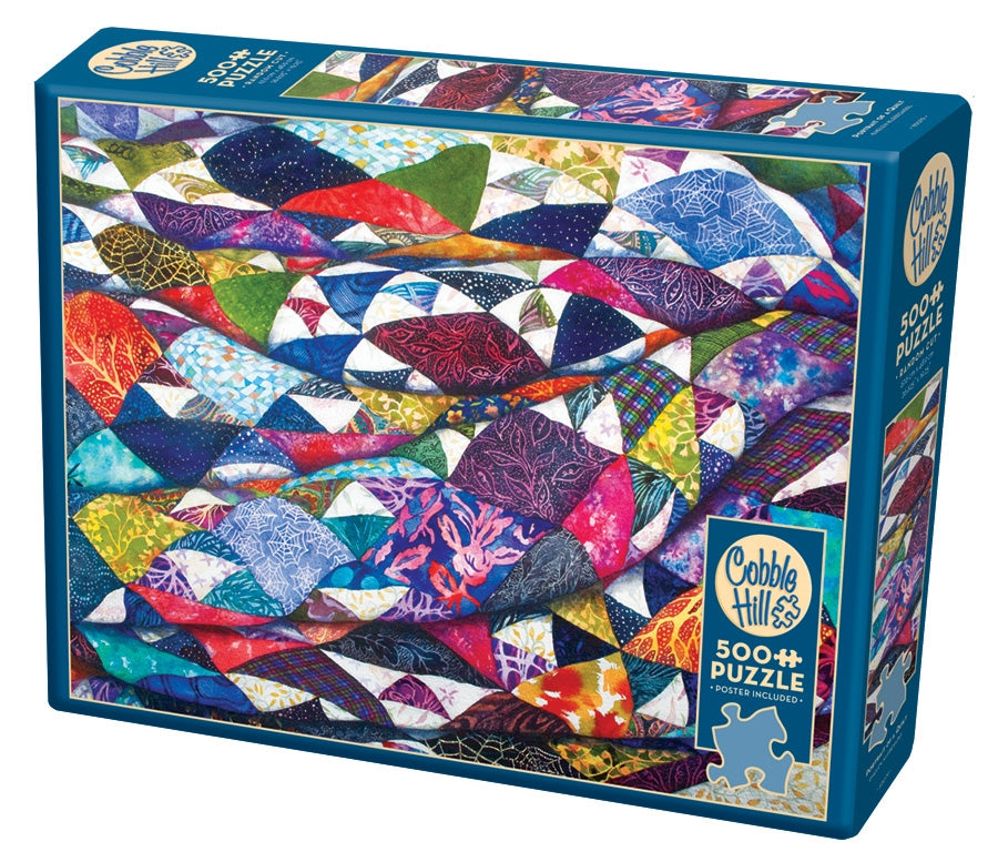Cobble Hill - Portrait of a Quilt, 500 PC Puzzle