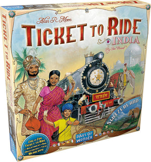 Days of Wonder - Ticket to Ride India
