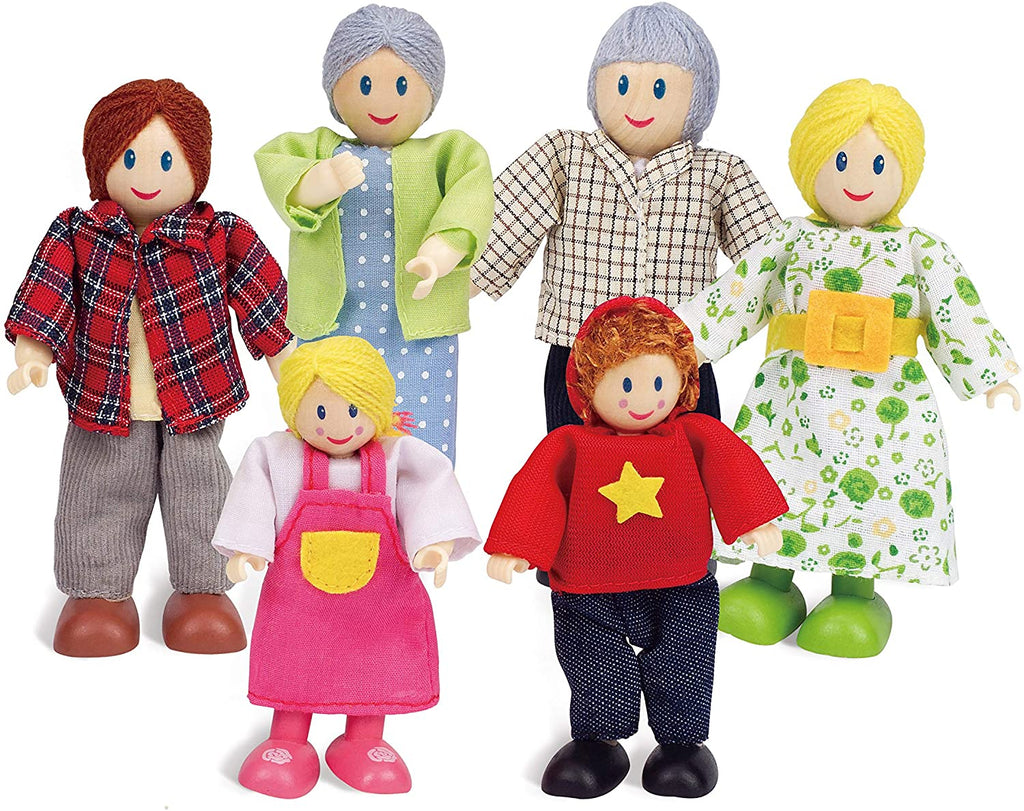 Hape - Happy Family-Caucasian Toy