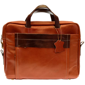 Pezon - Genuine Leather Handmade Business Bag - Viven