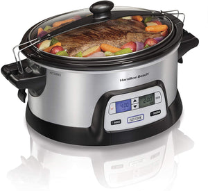 Hamilton Beach - Programmable FlexCook 6 Quart Slow Cooker