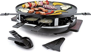 Swissmar - Raclette-8 Person Matterhorn Raclette Party Grill