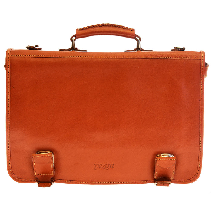 Pezon - Genuine Leather Business Bag - Solo