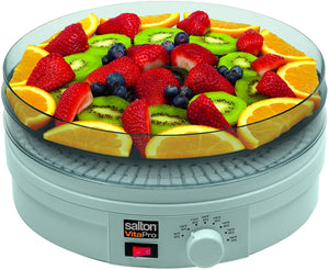 Salton - VitaPro Food Dehydrator with Fruit Roll-up and Herb Trays