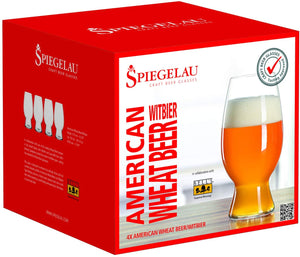 Spiegelau - American Wheat Beer Glasses (Set Of 4)