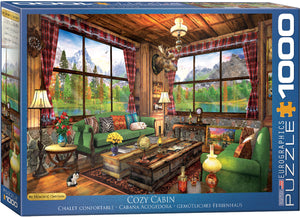 Eurographics - Cozy Cabin by Dominic Davison, 1000 PC Puzzle
